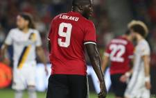 Manchester United forward Romelu Lukaku. Picture: @ManUtd/Twitter