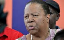 Home Affairs Minister Naledi Pandor. Picture: Aletta Gardner/EWN