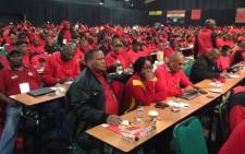 FILE: Congress of South African Trade Unions delegates at the union's special congress in Midrand on 13 July 2015. Picture: Vumani Mkhize/EWN.