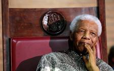 FILE: This undated image shows former South African president Nelson Mandela. Picture: AFP