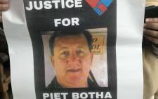 FILE: Piet Botha. Picture: Lauren Isaacs/EWN.