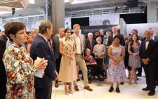 The Duke and Duchess of Sussex, Prince Harry and Meghan Markle, attend the Nelson Mandela exhibition at London's Southbank Centre on 17 July 2018. Picture: @KensingtonRoyal/Twitter.