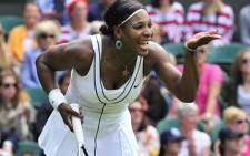 American tennis player Serena Williams. Picture: AFP
