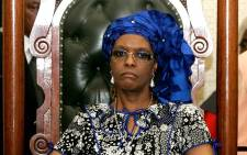 FILE: Zimbabwean first lady Grace Mugabe.  Picture: AFP.