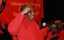 FILE: SACP chairperson Senzeni Zokwana Picture: Tahir Sema