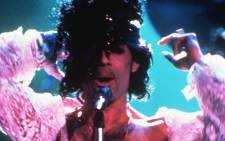 FILE: American singer Prince on stage in Paris in 1985. Picture: AFP.