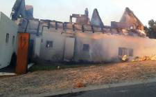 Houses were damaged during a vegetation fire in Gordon's Bay on Western Cape on 7 November 2017. Picture: Supplied