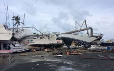 The devastating aftermath of Hurricane Irma on the British Virgin Islands. Picture: Jared Milsom