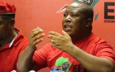 FILE: Economic Freedom Fighters' leader Julius Malema. Picture: Christa Eybers/EWN.