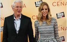 American actor Richard Gere and wife Alejandra Silva. Picture: Instagram/alejandra_silva__