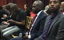 Former SABC COO Hlaudi Motsoeneng making an appearance at the Labour Court. Picture: Hitekani Magwedze/EWN.