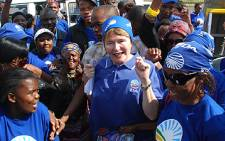Democratic Alliance leader Helen Zille.