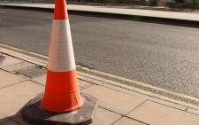 Traffic cone on a road. Picture: Freeimages.com