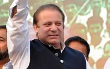 Prime Minister of Pakistan Mian Muhammad Nawaz Sharif. Picture: Facebook.com.