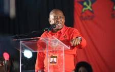 Blade Nzimande at the SACP's 14th National Congress in Boksburg. Picture: Twitter/@SACP1921