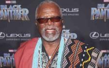 Dr John Kani at the Hollywood premiere of 'Black Panther'. Picture: Twitter