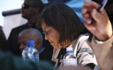 Cape Town Mayor, Patricia de Lille hosted the first mayoral pop-up office in Athlone. Picture: Cindy Archillies/EWN