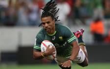 The Springbok Sevens' Rosco Speckman. Picture: Facebook.com