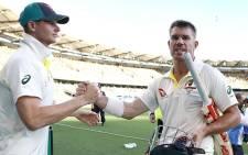 FILE: Steve Smith (left) and David Warner. Picture: Twitter/@CricketAus.