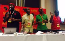 The Economic Freedom Fighters is hosting its third plenum in Kempton Park this weekend which kicked off on Friday. Picture: Masa Kekana/EWN.