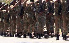 FILE: SANDF units on parade. Picture: Reinart Toerien/EWN