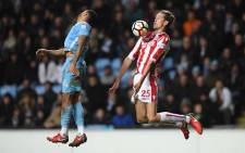 Former FA Cup winners Coventry revived memories of happier times when they beat Stoke City at the Ricoh Arena. Picture: @stokecity/Twitter.