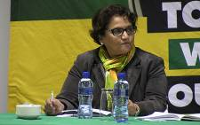 ANC Deputy Secretary General Jessie Duarte at the party's special National Executive Committee meeting held in Centurion on 19 May 2014. Picture: Reinart Toerien/EWN