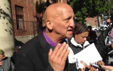 Little Jeremiah's grandfather, Ronald Ruiters, says he's broken and distraught. Picture: Lauren Isaacs/EWN.