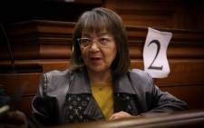 Patricia de Lille in the Western Cape High Court ahead of judgment in her case against the DA. Picture: Cindy Archillies/EWN