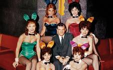 Hugh Hefner at the Playboy Club in Chicago in 1960. Picture: Playboy
