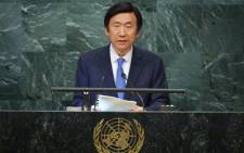 FILE: Yun Byung-se, Minister for Foreign Affairs of the Republic of Korea. Picture: AFP.
