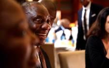 ANC president Cyril Ramaphosa. Picture: Moeketsi Moticoe/EWN.