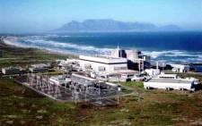 FILE: Eskom's Koeberg Power Station. Picture: Eskom.