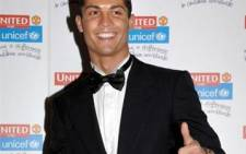 It's all good: Cristiano Ronaldo is a happy man over his move to Real Madrid from Manchester United. Picture: Gallo Images/WireImage