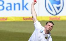 South Africa seamer Dale Steyn in action against India in the opening Test at Newlands. Picture: @OfficialCSA/Twitter.