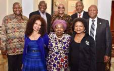 President Jacob Zuma (back centre) hosted a meeting of the ANC's top leadership candidates, namely Zweli Mkhize, Cyril Ramaphosa, Mathews Phosa, Jeff Radebe, Lindiwe Sisulu, Nkosazana Dlamini Zuma, and Baleka Mbete on 23 November 2017. Picture: MyANC/Facebook