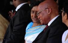 President Jacob Zuma and Sally Padayachie. Picture: GCIS