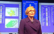 Democratic Alliance leader Helen Zille. Picture: AFP