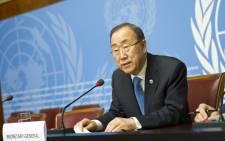 United Nations Secretary-General Ban Ki-moon. Picture: United Nations Photo.