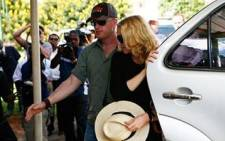 Madonna arrives at the High Court in Lilongwe in Malawi. The superstar is trying to adopt a second Malawian child. Picture: Gallo Images/WireImage