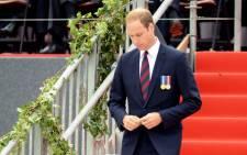 FILE: Britain's Prince William. Picture: AFP.