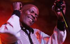 Ray Phiri of Sitmela performs on stage during the Standard Bank Joy of Jazz 2007 held in Newtown on August 25, 2007.  Picture: Gallo Images