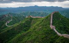 The Great Wall of China. Picture: Wikipedia.