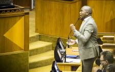 Democratic Alliance Parliamentary Leader Mmusi Maimane says the ANC has become a party that places the needs of one man above those who elected them to power. Picture: Picture: Thomas Holder/EWN.