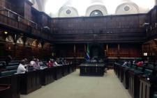 MPs at work on their draft report following an inquiry into the South African Broadcasting Corporation (SABC)'s fitness to hold office. Picture: Gaye Davis/EWN.