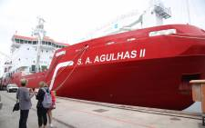 The 'SA Agulhas II' left Cape Town on 14 October 2017 and is expected to reach Durban on 16 October. Picture: Cindy Archillies/EWN