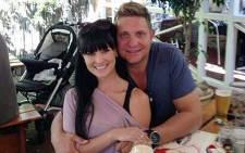 Kurt Darren with his wife Dunay. Picture: Kurt Darren Facebook Page