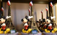A photo shows a Disney Store in Mean Street at Disneyland Paris in Marne-la-Vallee. Picture: AFP