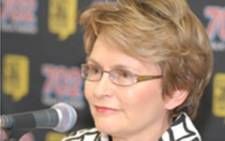 Western Cape Premier Helen Zille. Picture: AFP.
