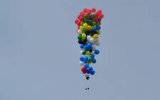 Balloon Run from Robben Island - 6 April 2013 (by Matt Silver-Vallance)